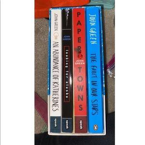 John Green Books (bundle)